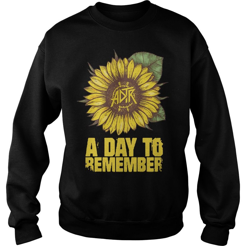 Sunflower ADTR aday to remember Sweater