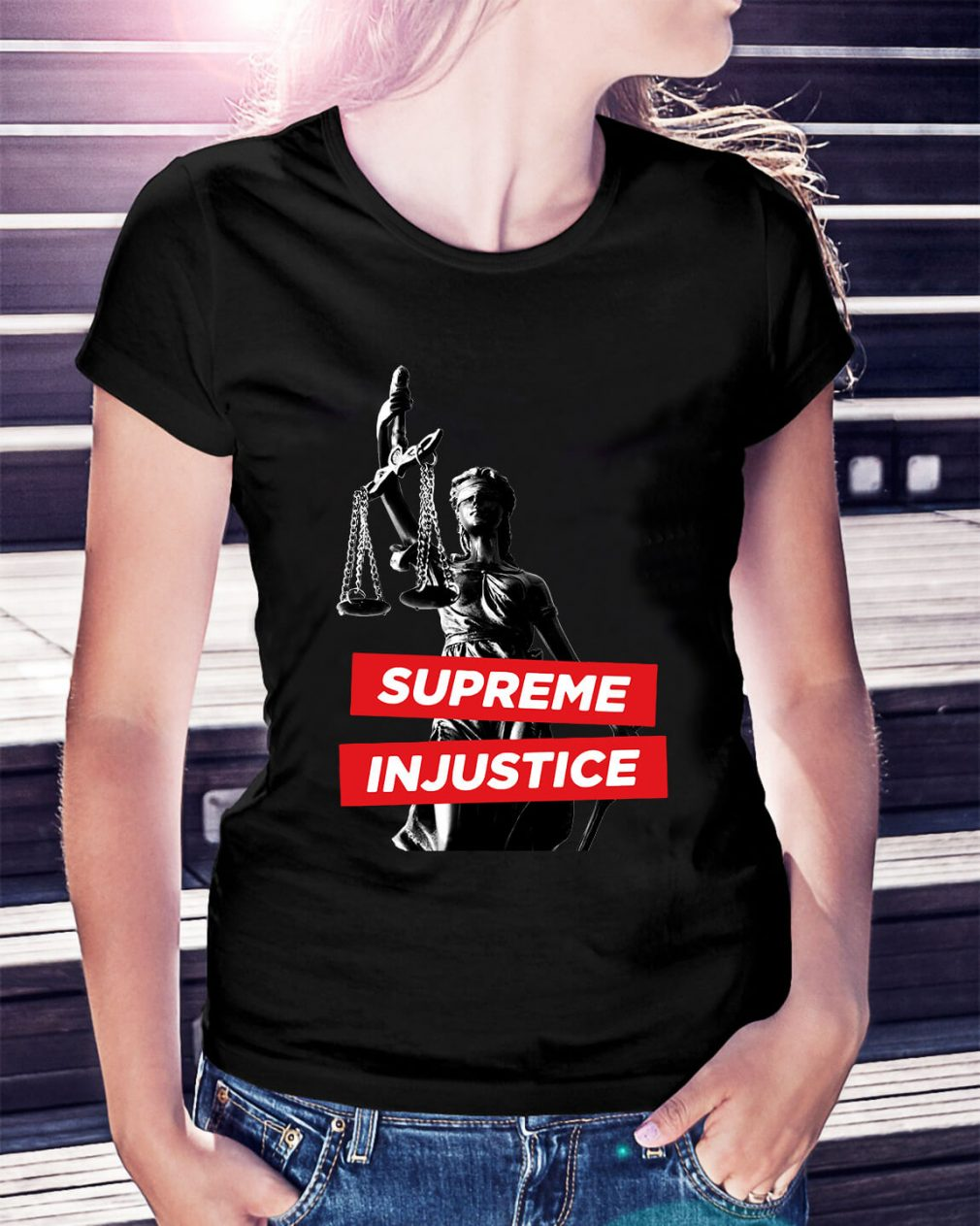 Supreme Injustice Ladies Tee