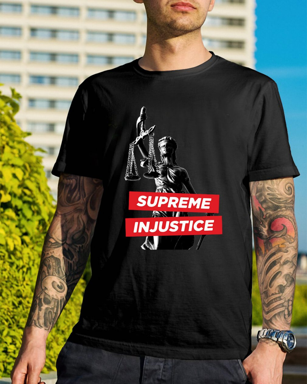 Supreme Injustice shirt