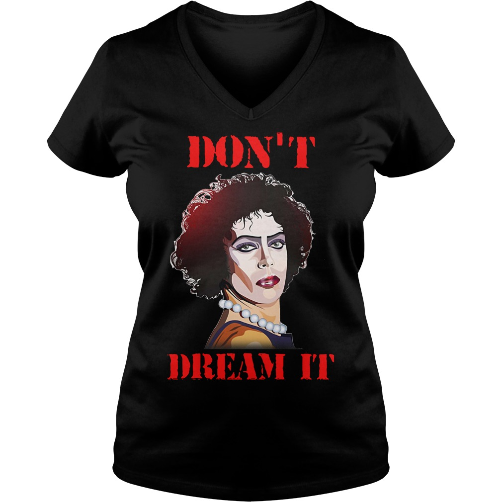 Susan Sarandon - Pennywise Don't dream it be IT V-neck T-shirt