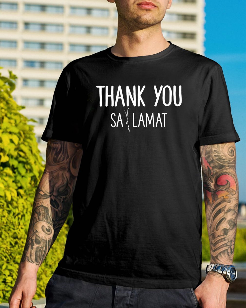 Thank you Sa Lamat shirt
