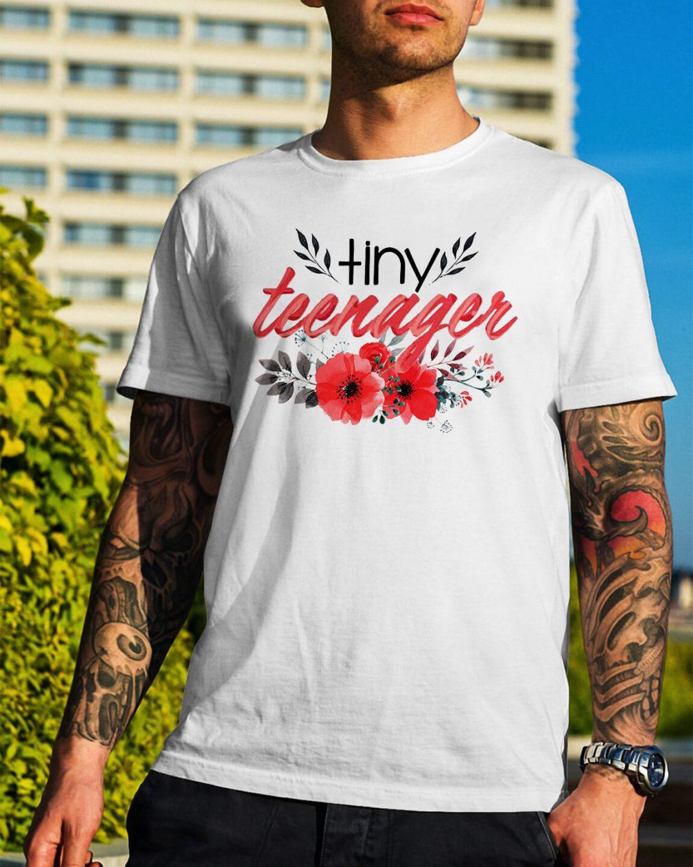 Tiny teenager Guys Shirt