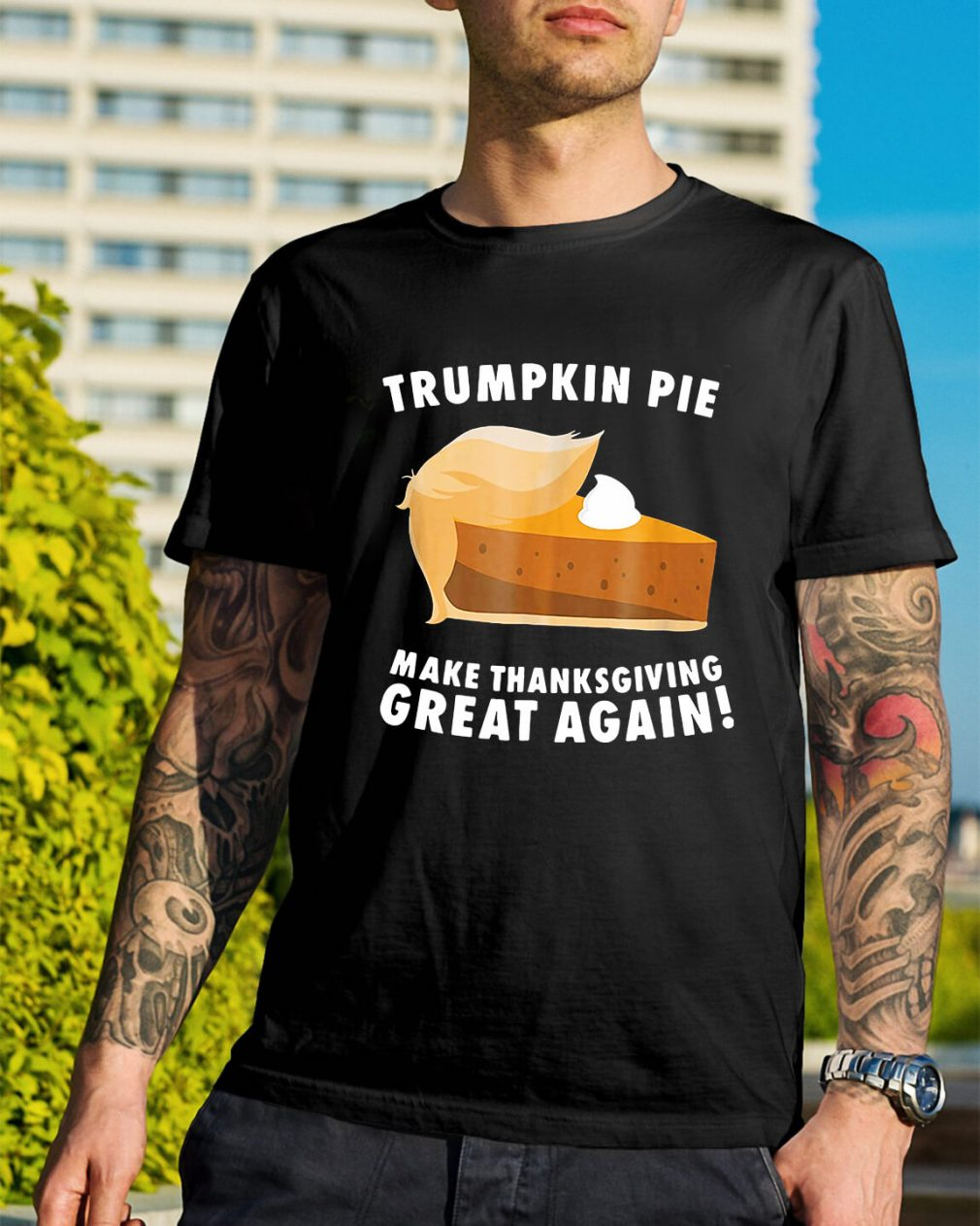 Trumpkin Pie make thanksgiving great again shirt