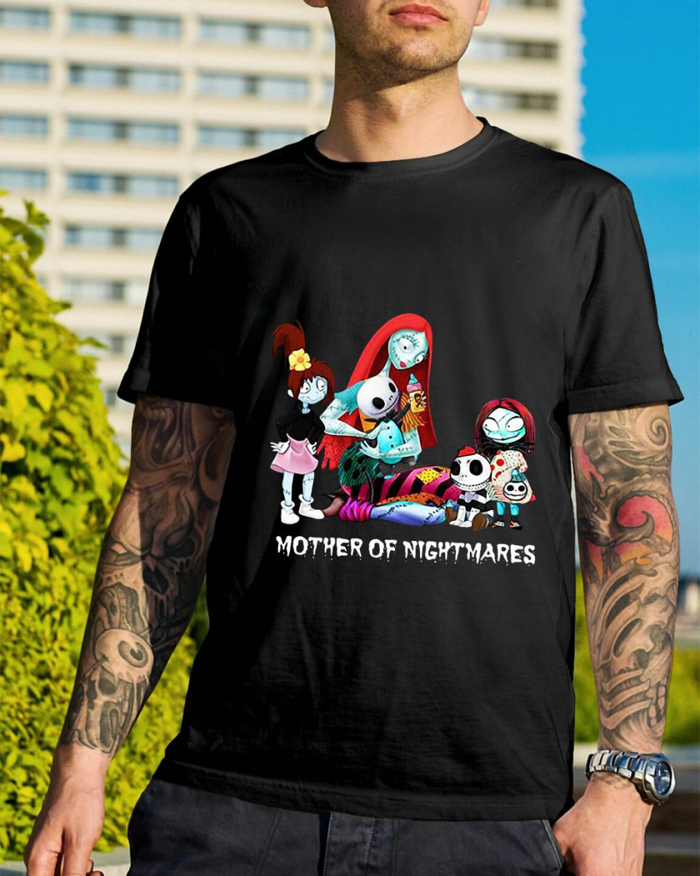Two boy and two girl Mother of nightmares shirt