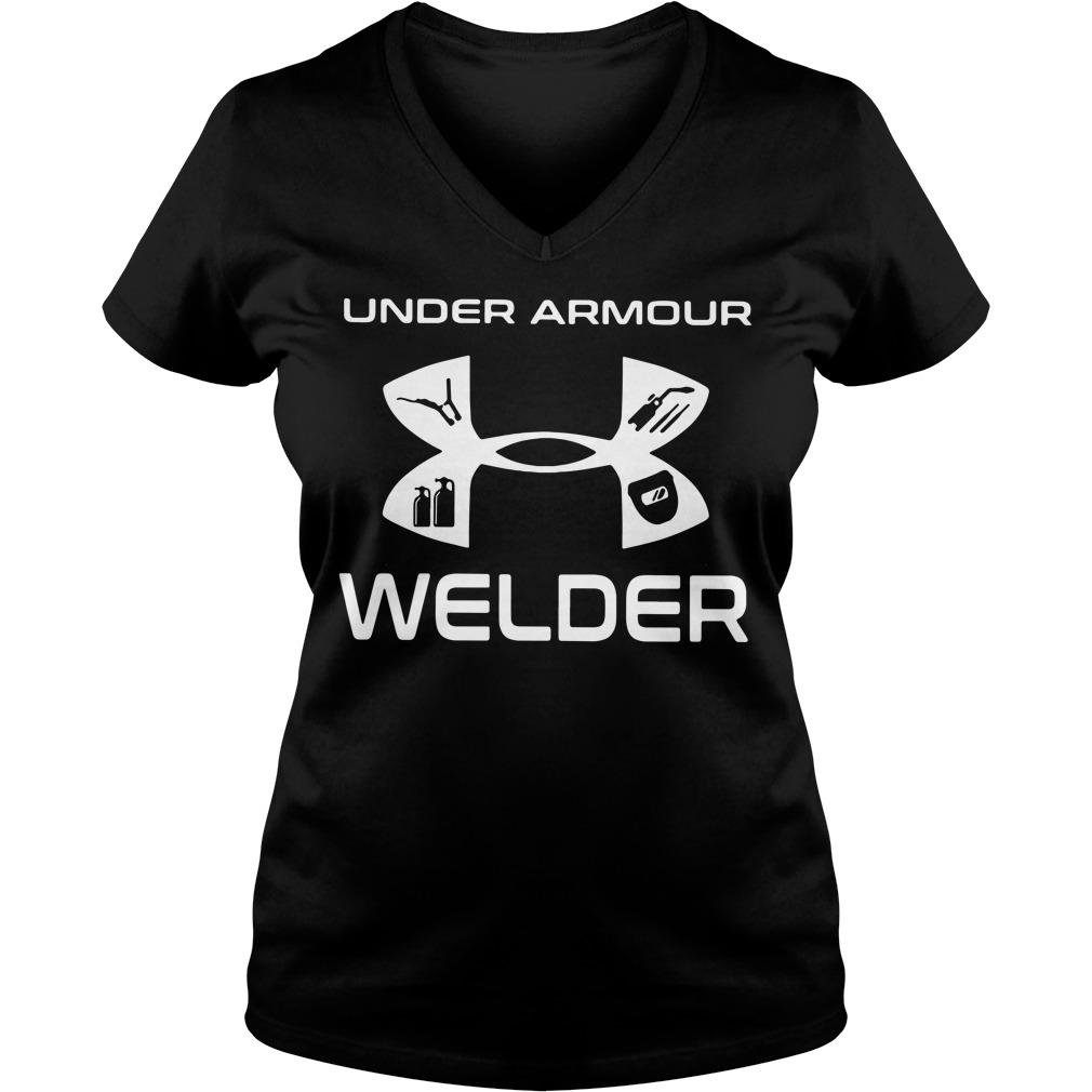 Under armour welder V-neck T-shirt