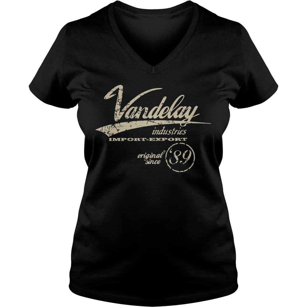 Vandelay industries importer exporter original since V-neck T-shirt