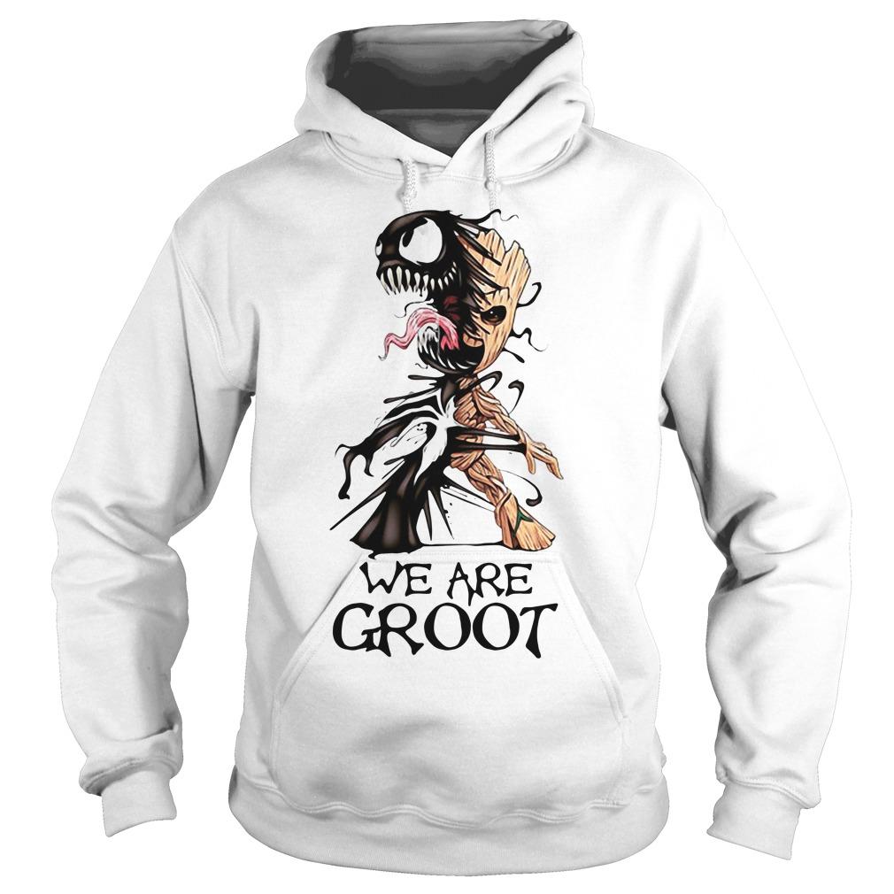 Venom - we are Groot Hoodie