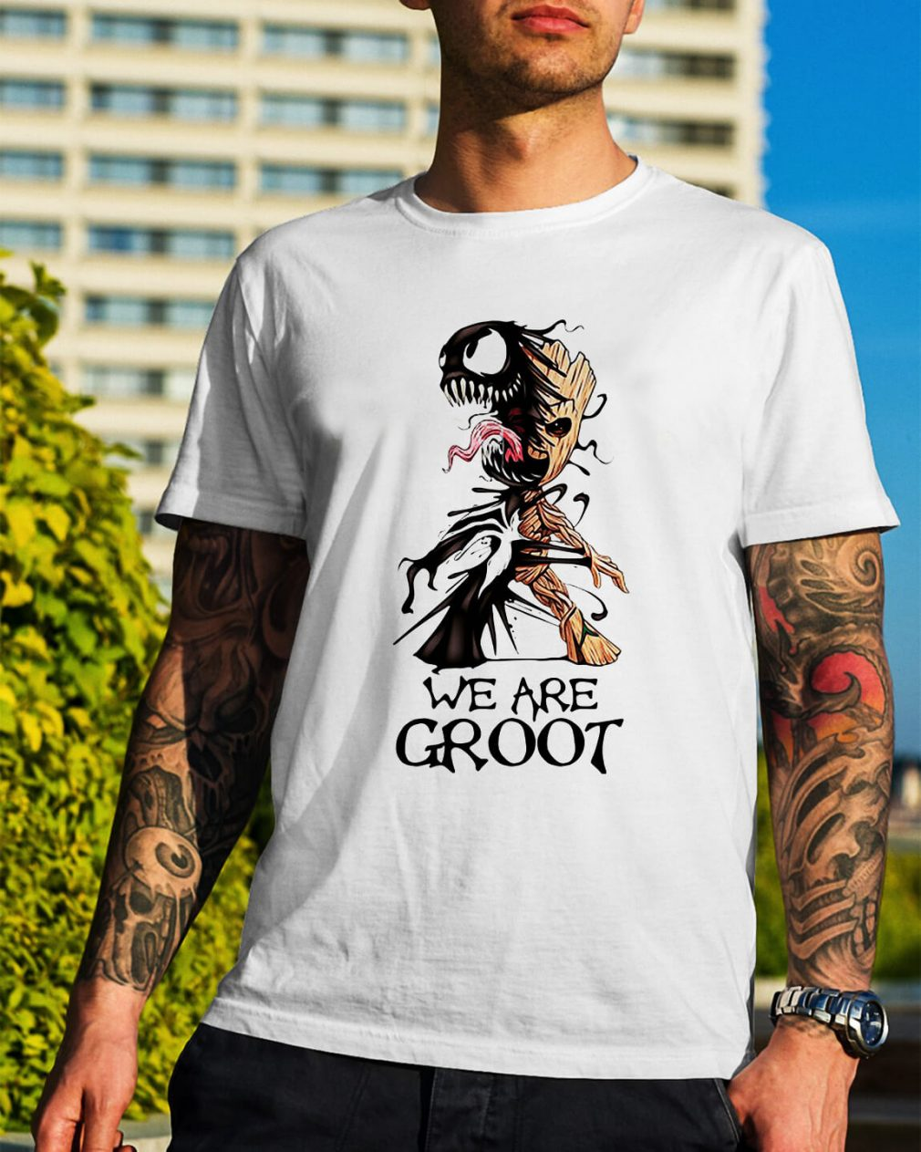 Venom - we are Groot shirt