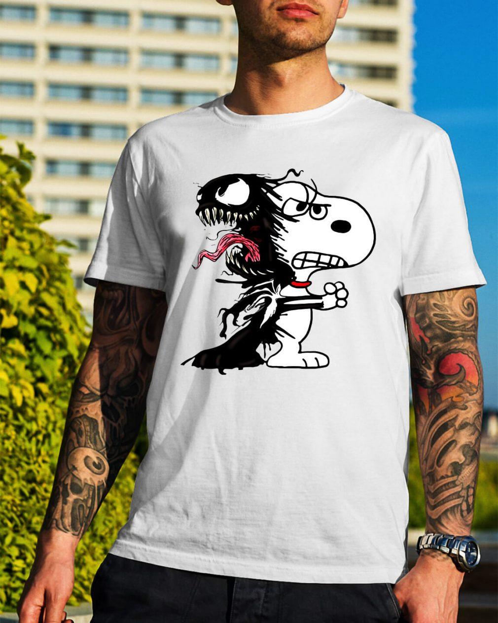 Venom and Snoopy shirt