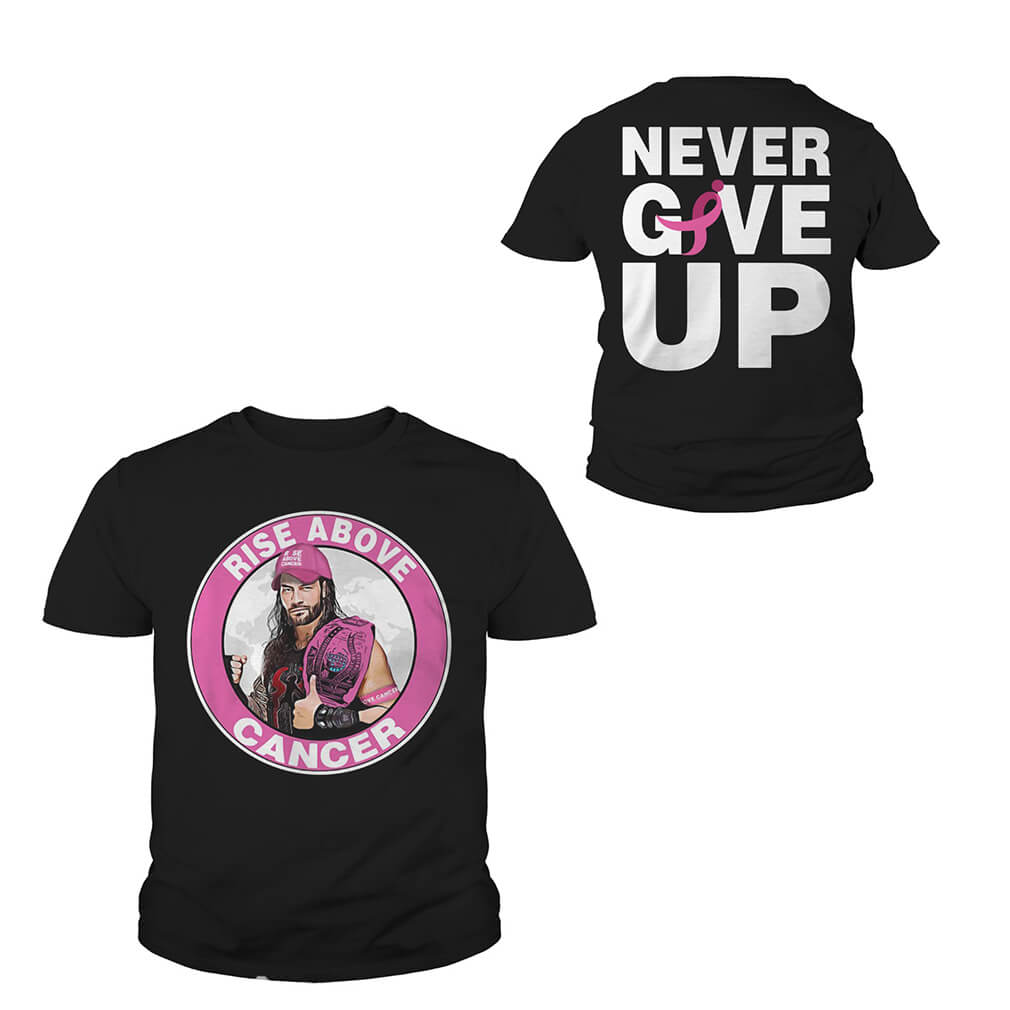 WWE Roman Reigns rise above cancer Youth Tee