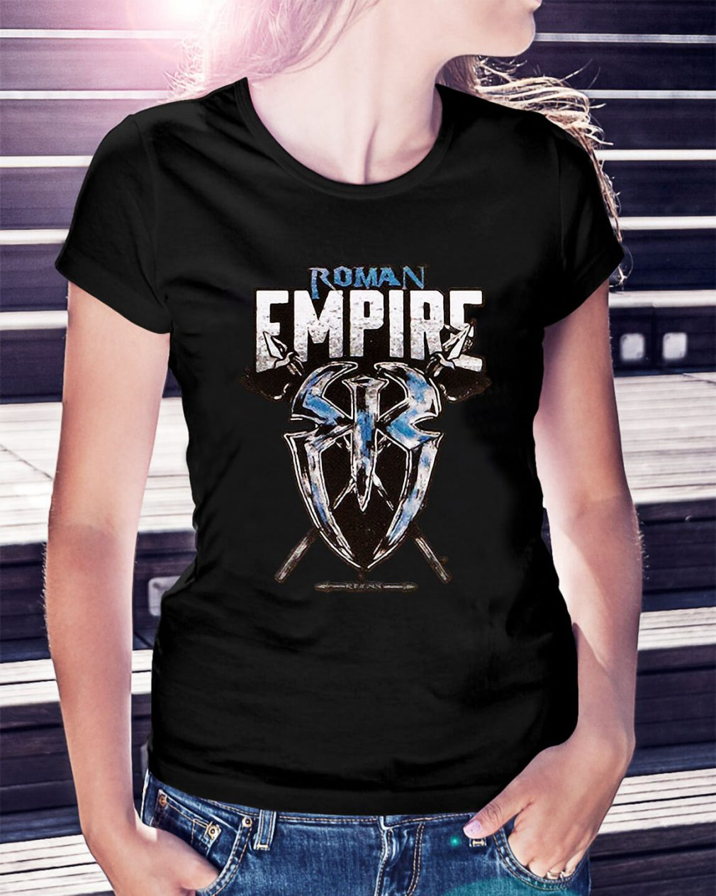 WWE Roman Reigns Roman Empire Ladies Tee
