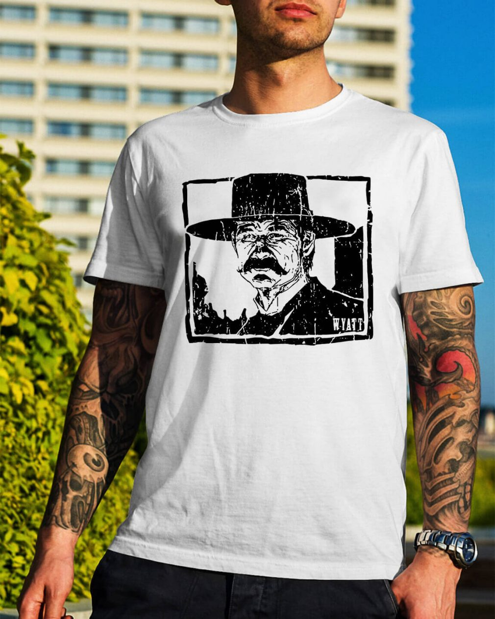 Wyatt Earp - Warrior culture gear you tell him I'm coming shirt