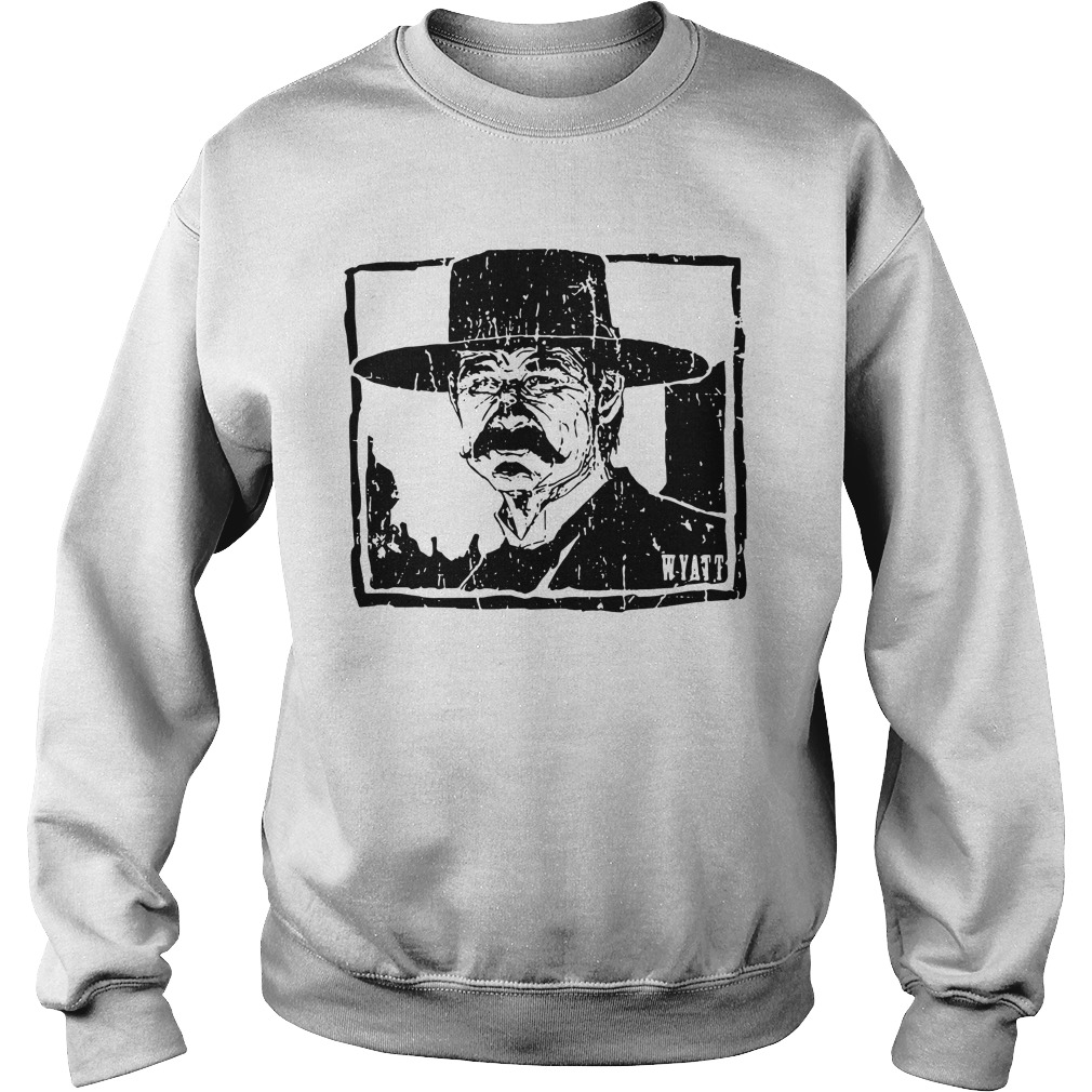 Wyatt Earp - Warrior culture gear you tell him I'm coming Sweater
