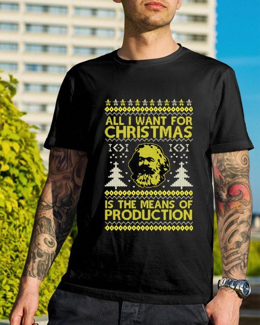 Daddy Karl All I want for Christmas is the means of production shirt and sweater