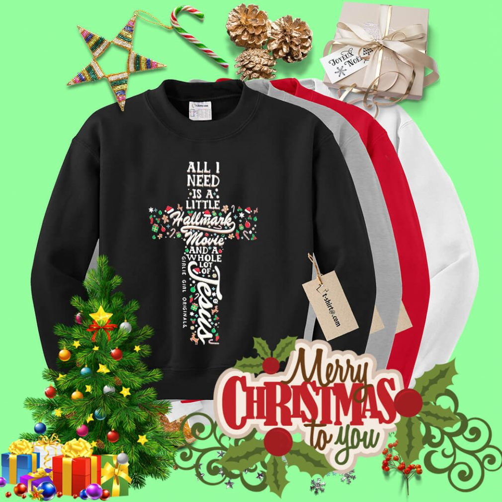 All I need is a little Hallmark movie and a whole lot of Jesus shirt, sweater