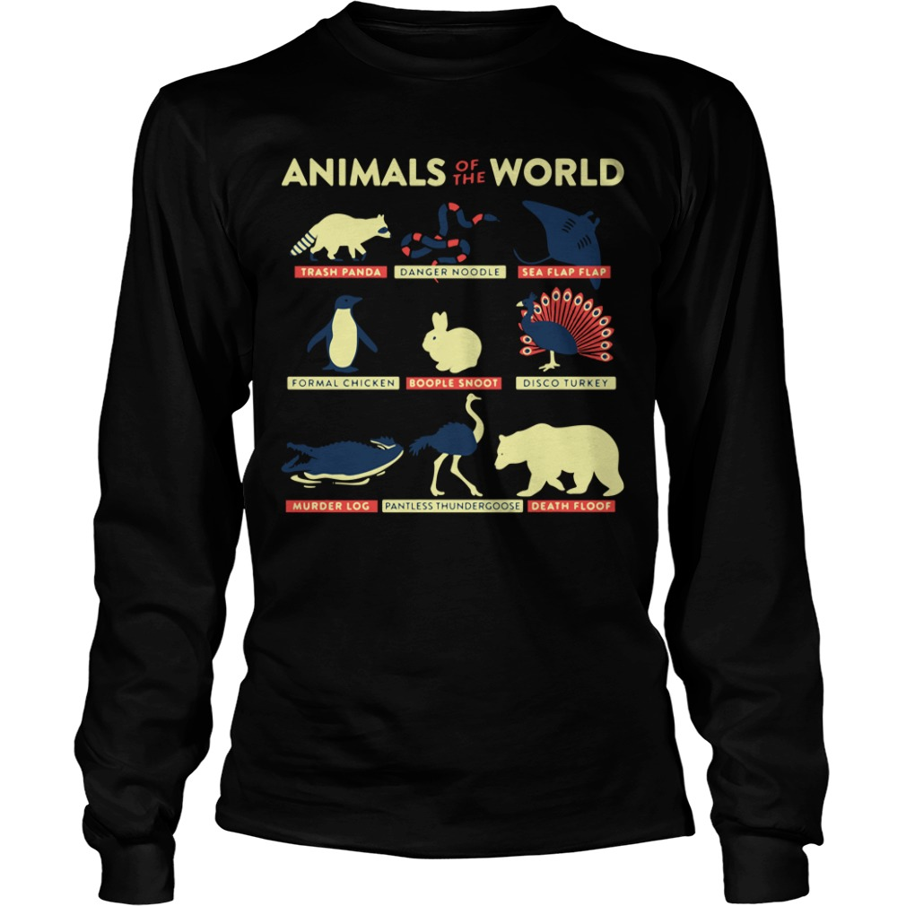 Animal of the world Longsleeve Tee
