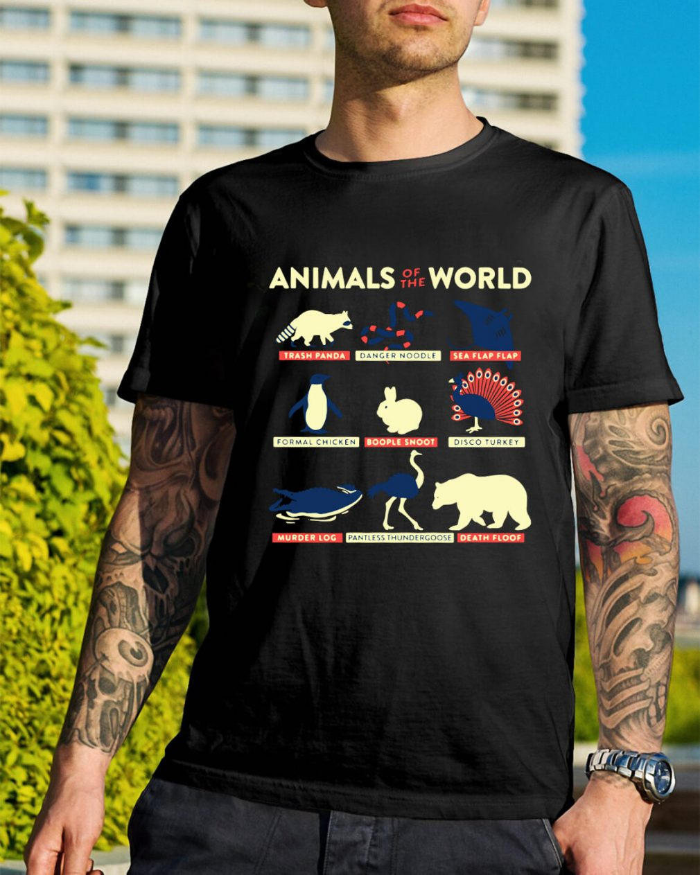 Animal of the world shirt