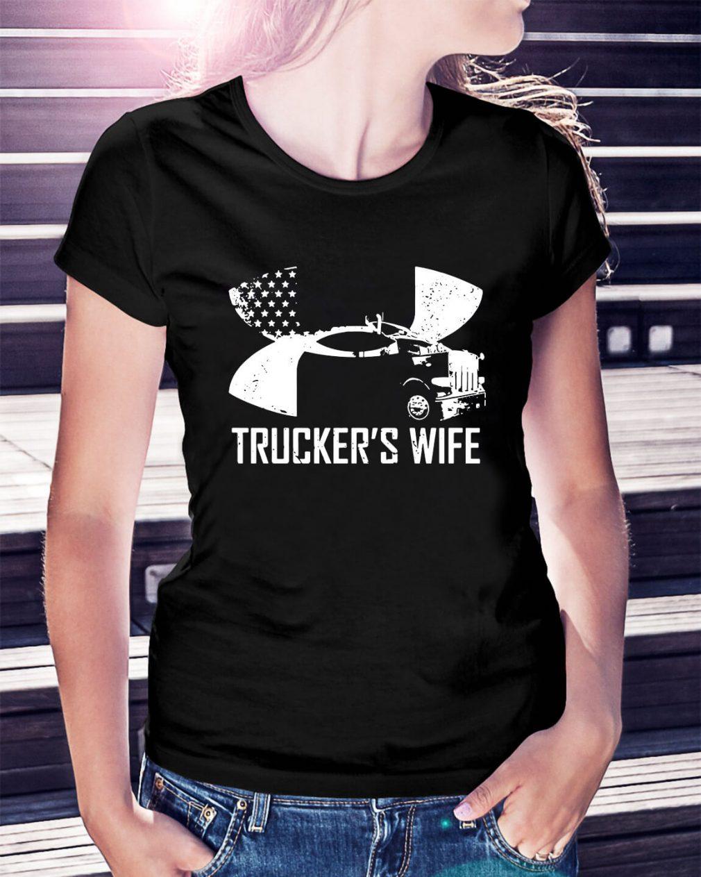 Under Armour trucker's wife Ladies Tee