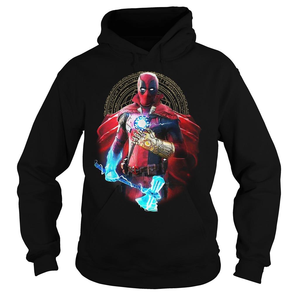 Avengers Infinity Deadpool Hoodie