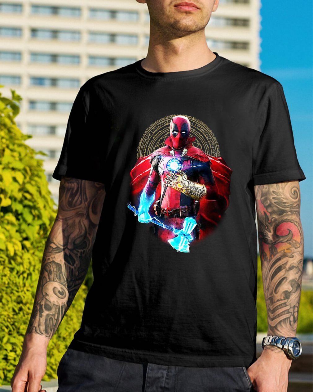 Avengers Infinity Deadpool shirt
