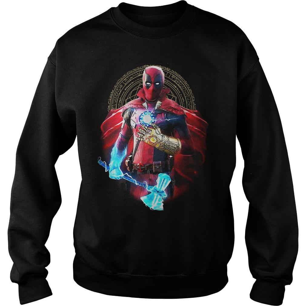 Avengers Infinity Deadpool Sweater