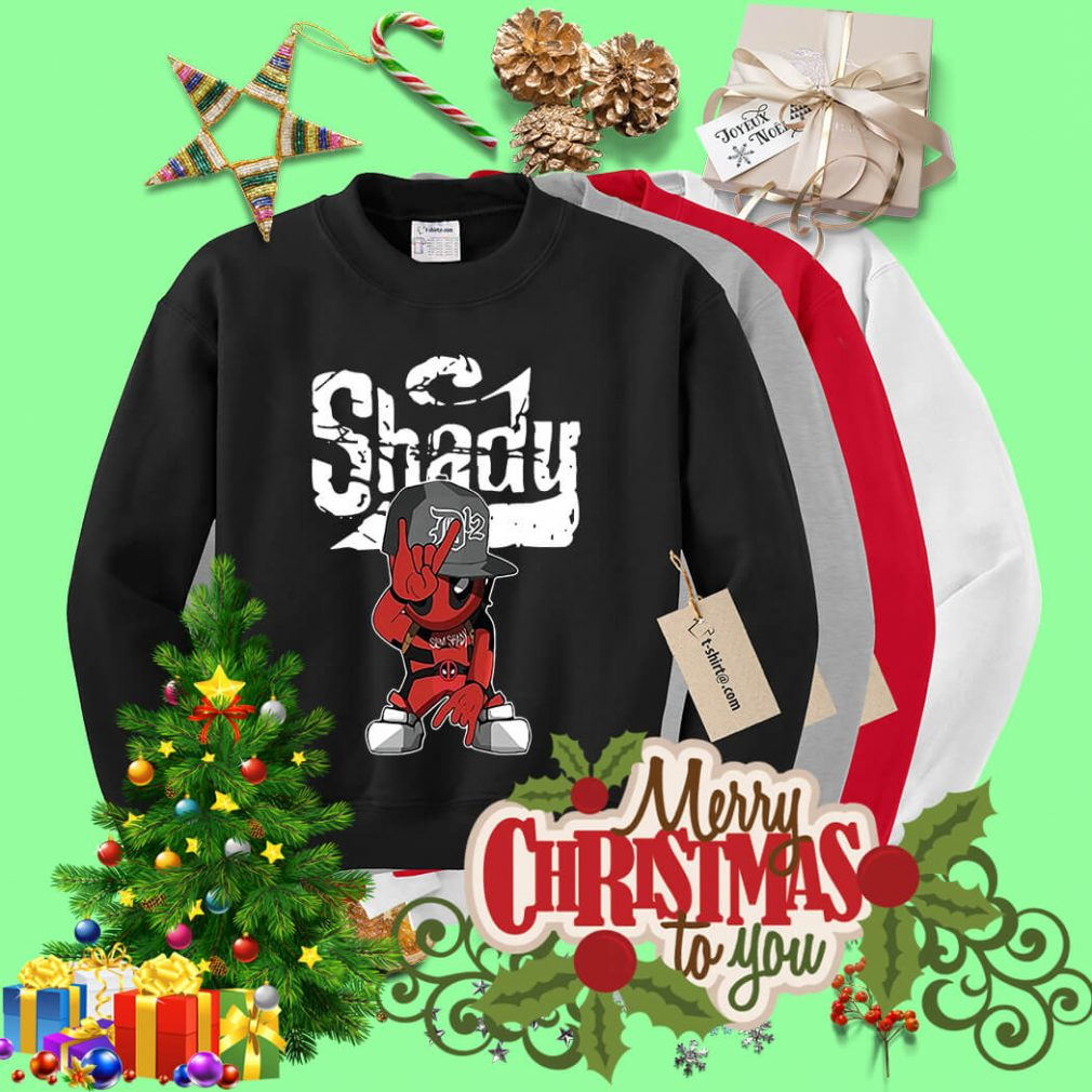 Baby Deadpool slim Shady Sweater