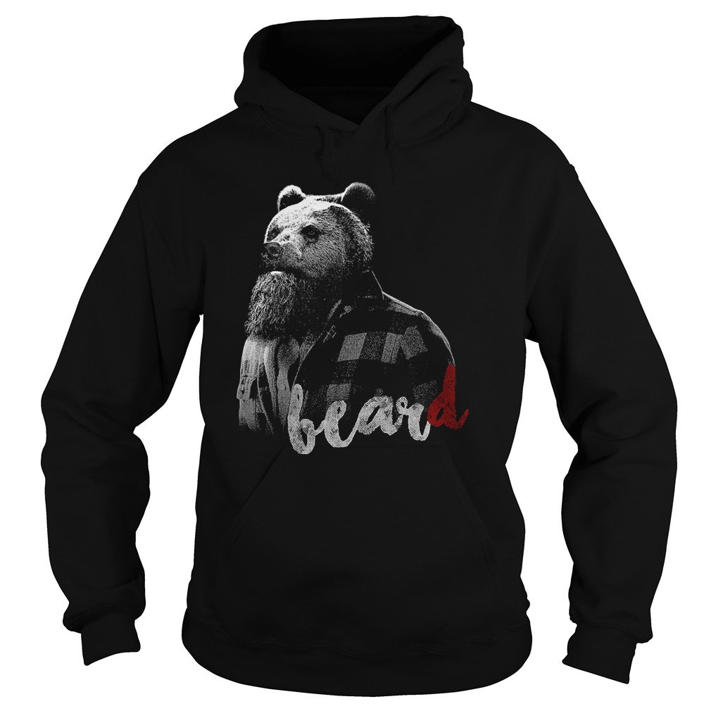 Bear with BearD Hoodie