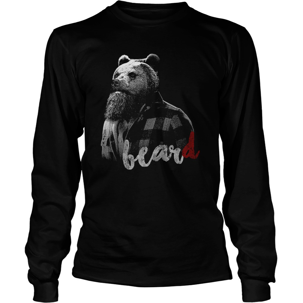 Bear with BearD Longsleeve Tee