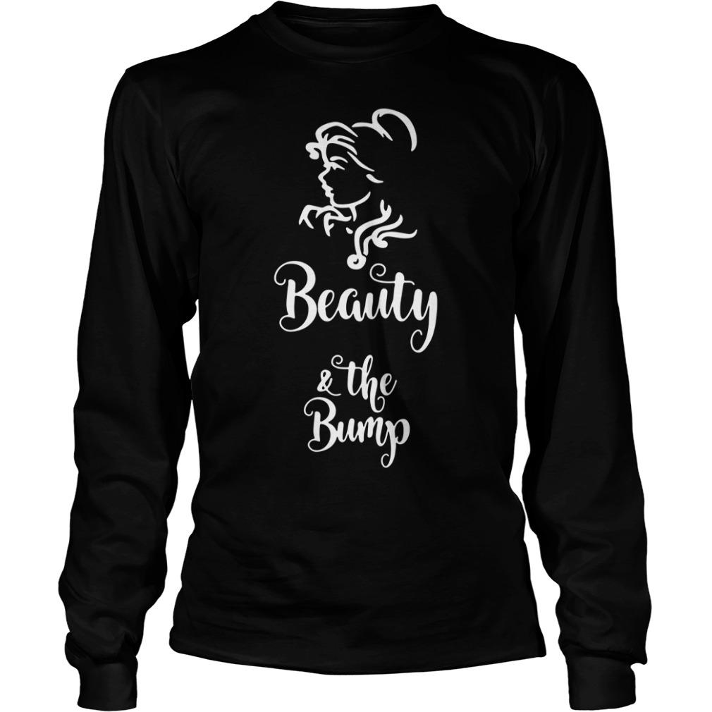 Beauty and the bump Longsleeve Tee