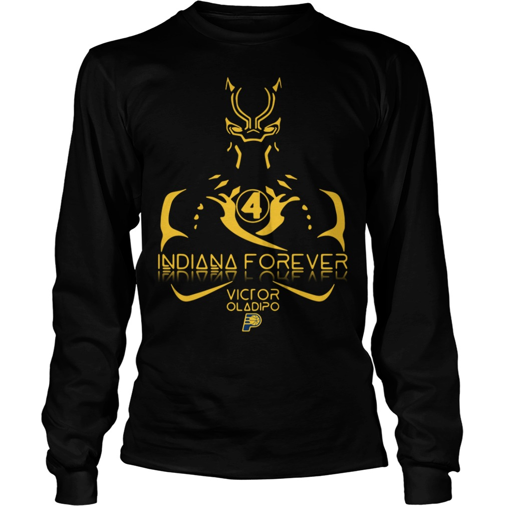 Black Panther Indiana forever Victor Oladipo Longsleeve Tee