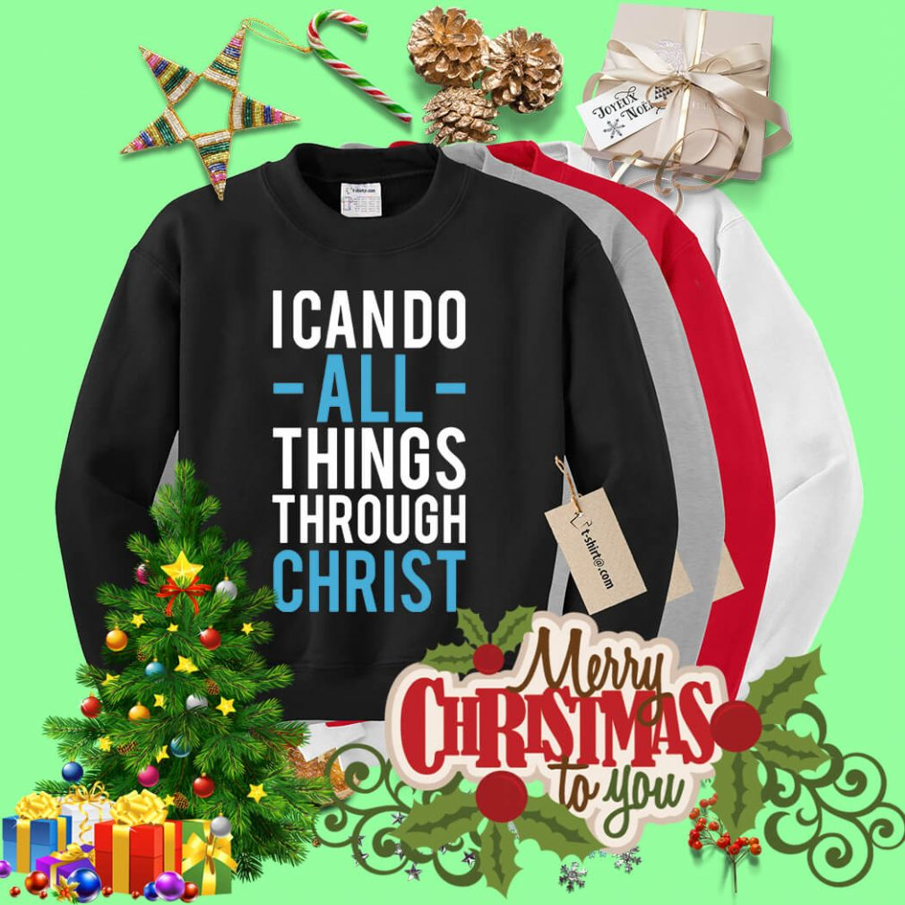 I can do all things through Christ Sweater