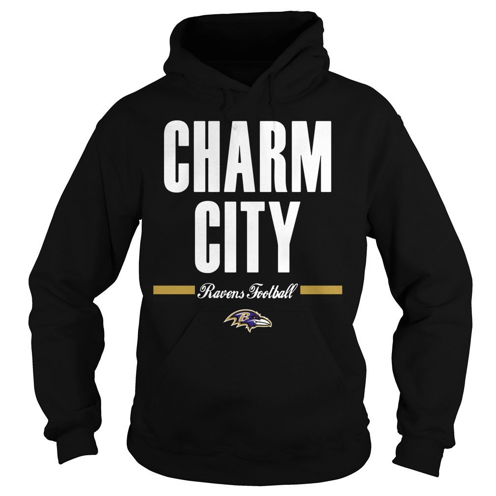 Charm city Ravens football Hoodie