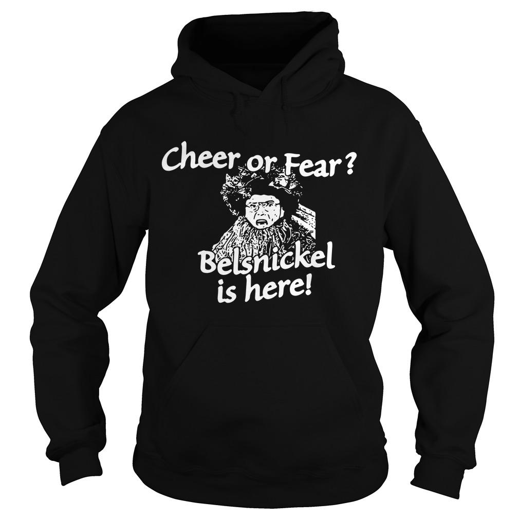 Christmas cheer or fear Belsnickel is here Hoodie