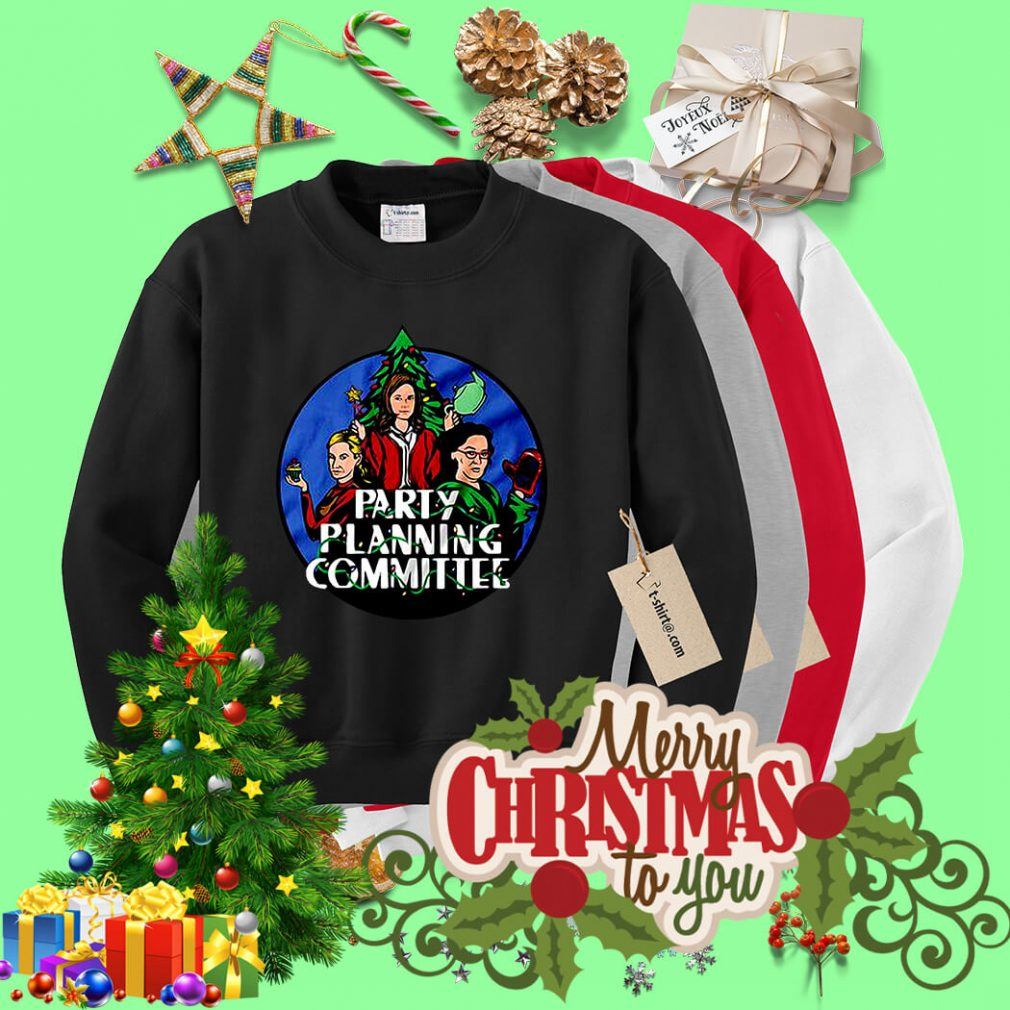 Christmas Party planning committee shirt, sweater
