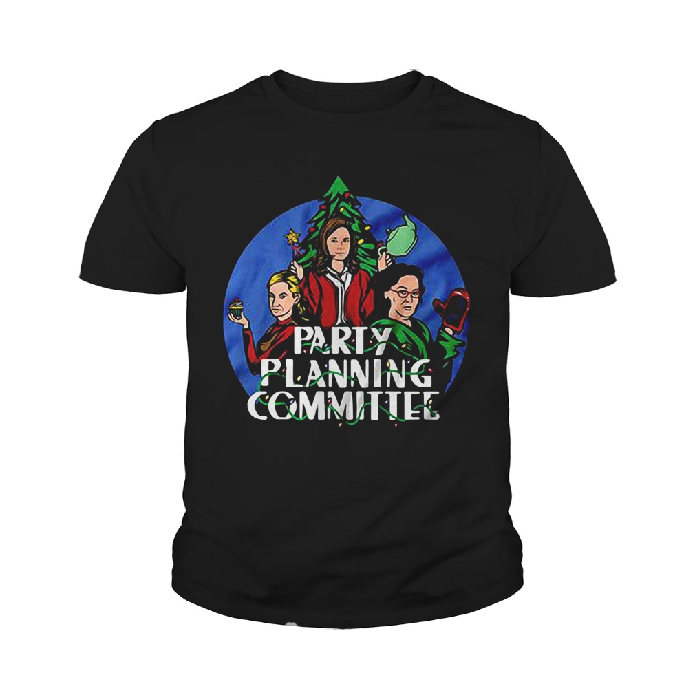 Christmas Party planning committee Youth Tee