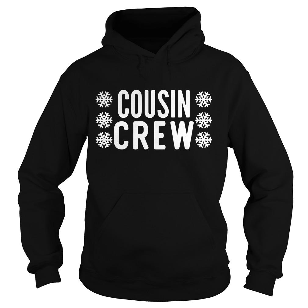 Christmas snow cousin Crew Hoodie