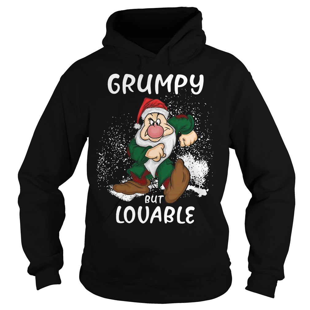Christmas The Grinch Grumpy but Lovable Hoodie