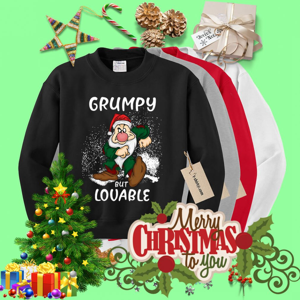 Christmas The Grinch Grumpy but Lovable shirt, sweater