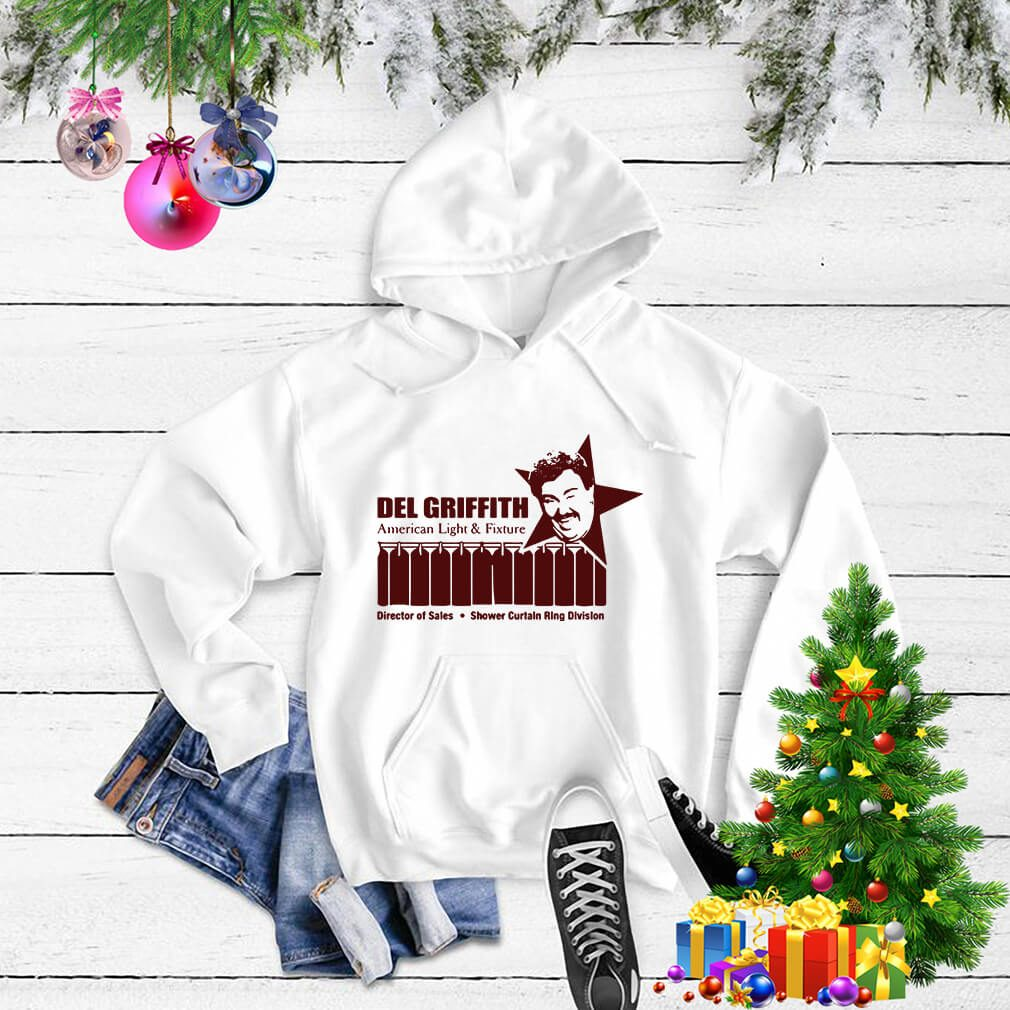 Del Griffith American light and fixture director of sales Sweater
