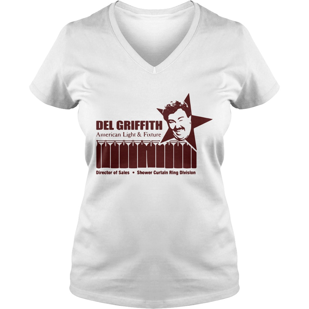 Del Griffith American light and fixture director of sales V-neck T-shirt