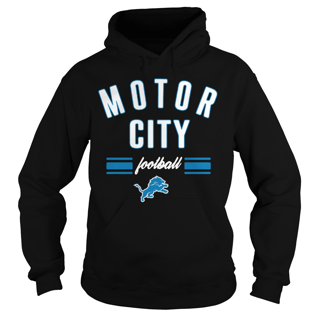 Detroit Lions motor city football Hoodie