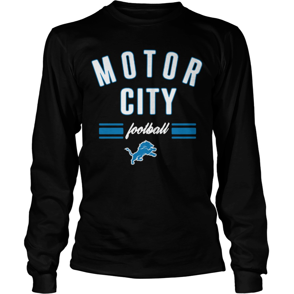Detroit Lions motor city football Longsleeve Tee