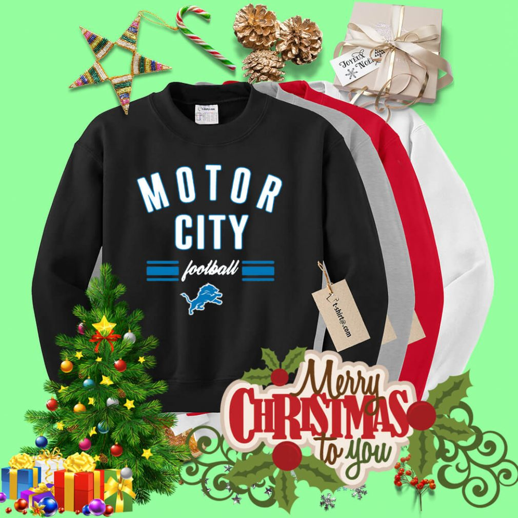 Detroit Lions motor city football Sweater