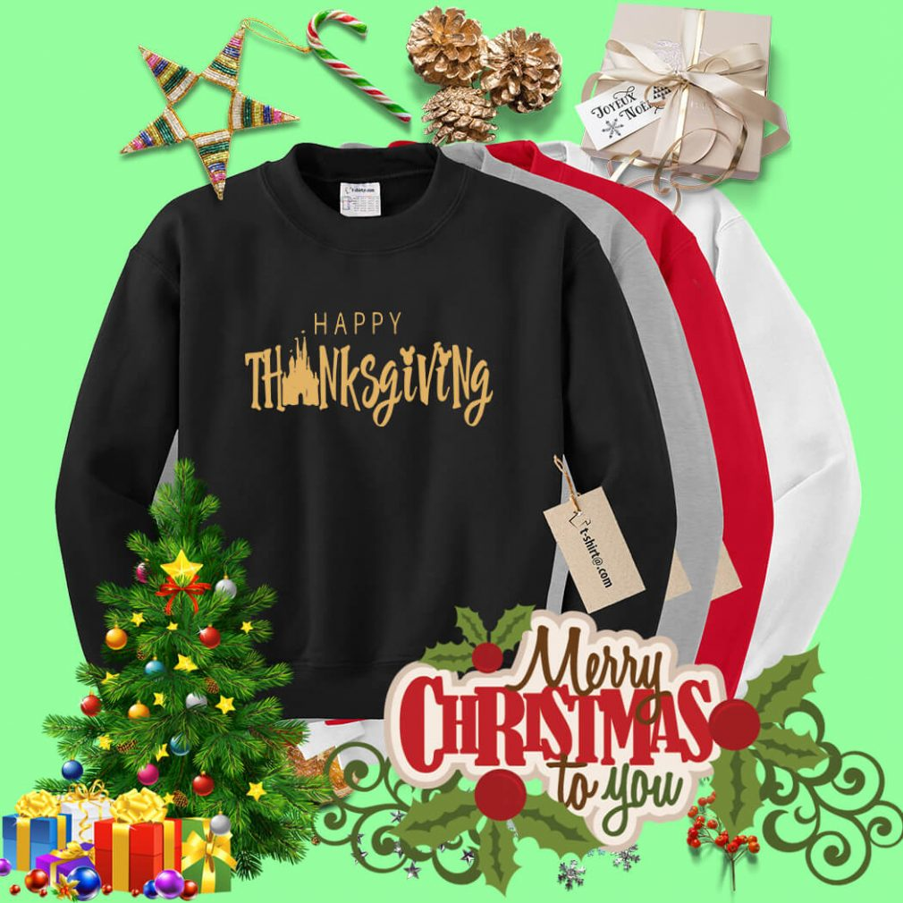 Disney happy thanksgiving Sweater