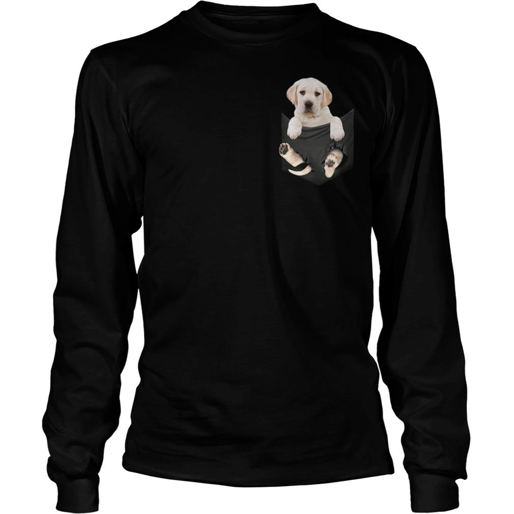 Dog in a pocket Longsleeve Tee