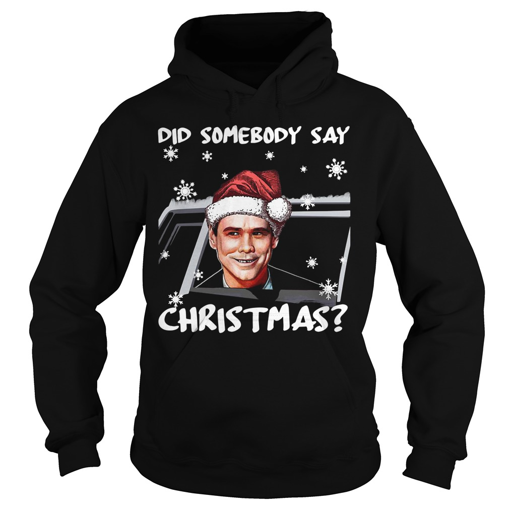 Dumb and Dumber did somebody say Christmas Hoodie