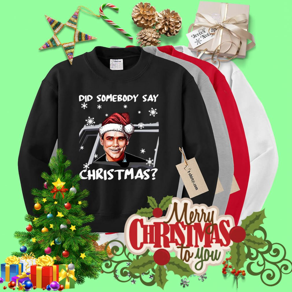 Dumb and Dumber did somebody say Christmas shirt, sweater