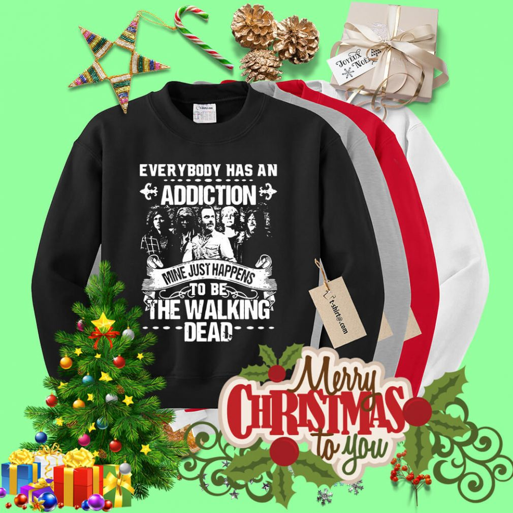 Everybody has an addiction mine happens to be The Walking Dead Sweater