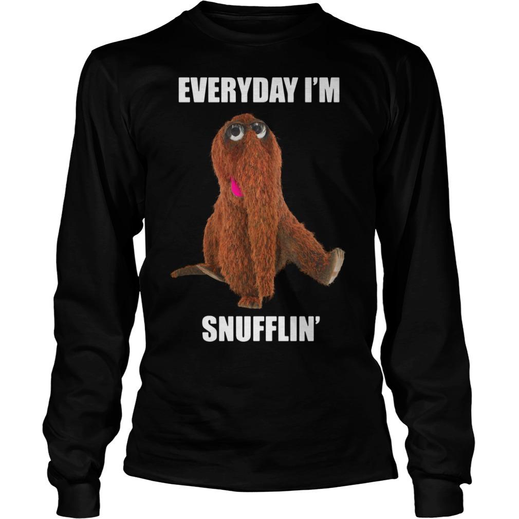 Everyday I'm Snufflin' Longsleeve Tee