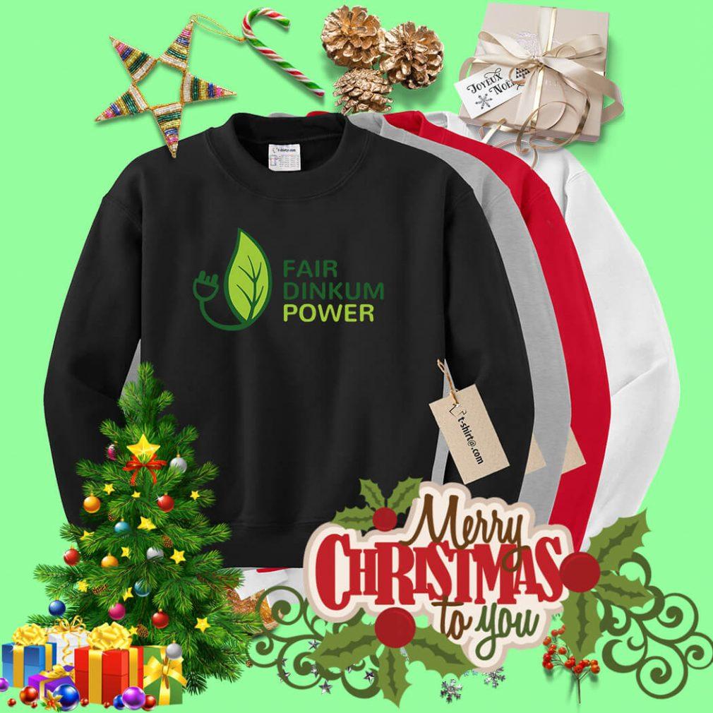 Fair dinkum power Sweater